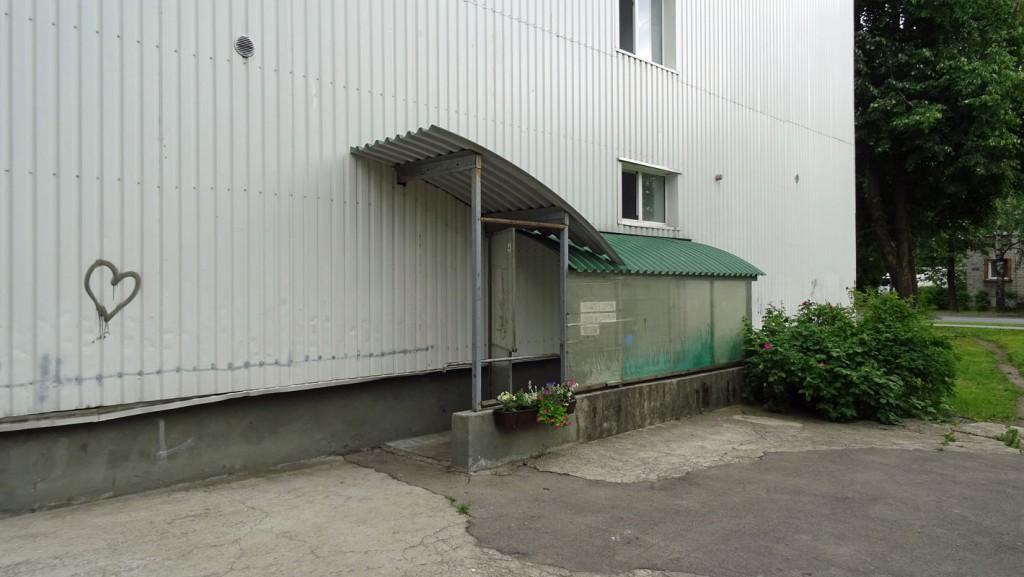 Der Haupteingang. Fotos: Henze