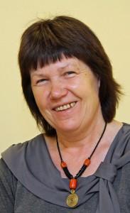 """Rudita Kumsare (52) leitet das diakonische Tageszentrum """"Mes"""" in Riga. Fotos: Henze"""