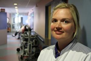 Hanna-Stiina Heinmets (31) leitet die Demenz-Station.