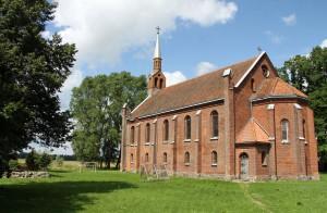 Die Kirche von Vyziai.