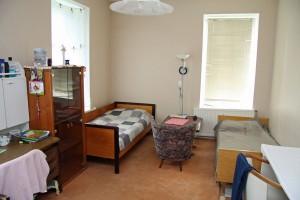Die Patientenzimmer wurden alle selbst ausgebaut